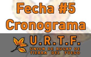 [URTF] Horarios: Primera División y Juveniles - 08/04