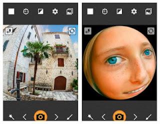 Aplikasi Kamera Fisheye Lensa Cembung Melingkar Terbaik