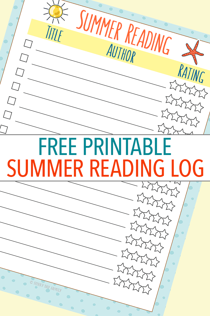 Keep kids engaged in summer reading with this free printable summer reading log! Track your progress and rank your favorite books with this fun list. And find out an awesome way to fill it with books from Epic - the Netflix of children's books. Summer Reading | Kids Books | Children's Books | Free Printables