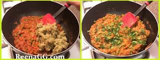 Baingan Bharta Hindi Recipe step 2
