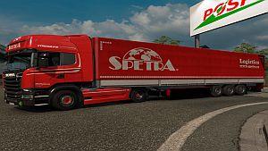 Spetra CZ Skin for Scania Streamline + trailer