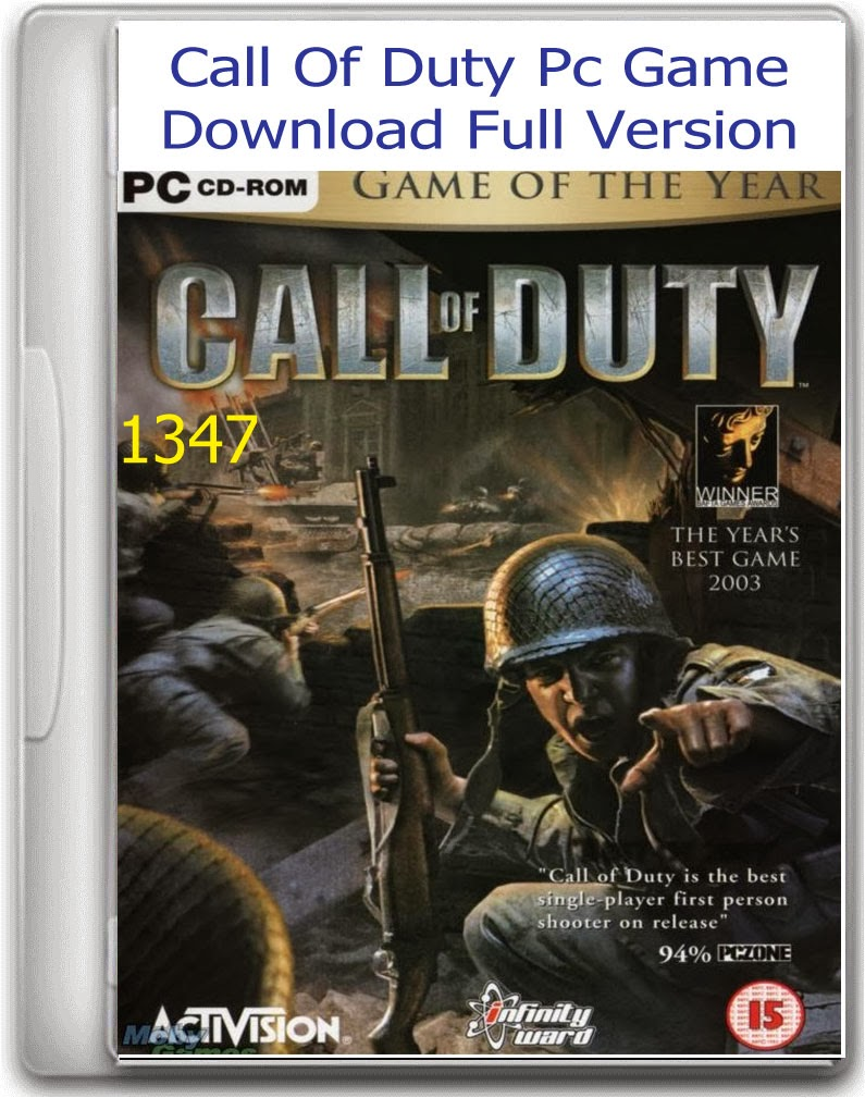 Full Version Ios: Call Of Duty Pc Game Download Full Version