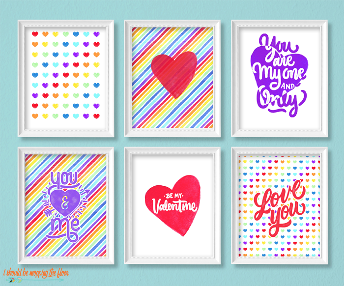 Whimsical Valentines Printables