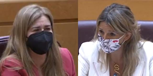 Ruiz-Sillero y Yolanda Díaz