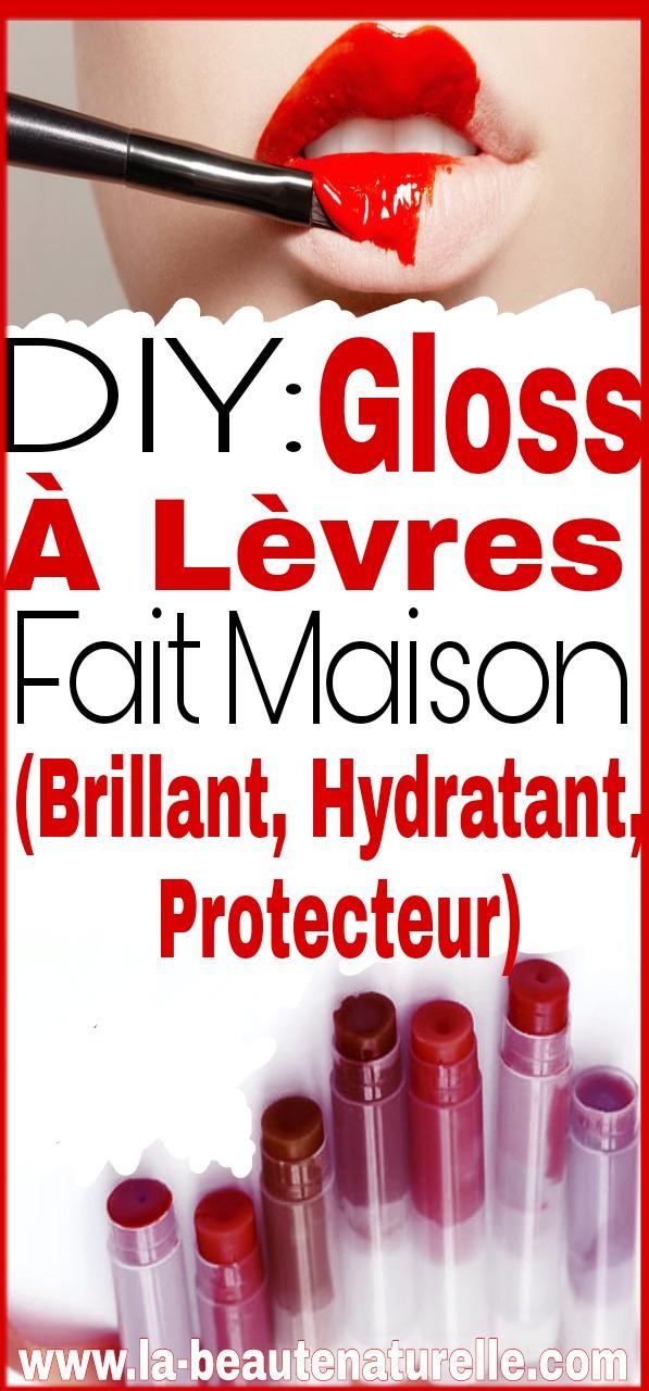 DIY: Gloss à lèvres fait maison (brillant, hydratant, protecteur)