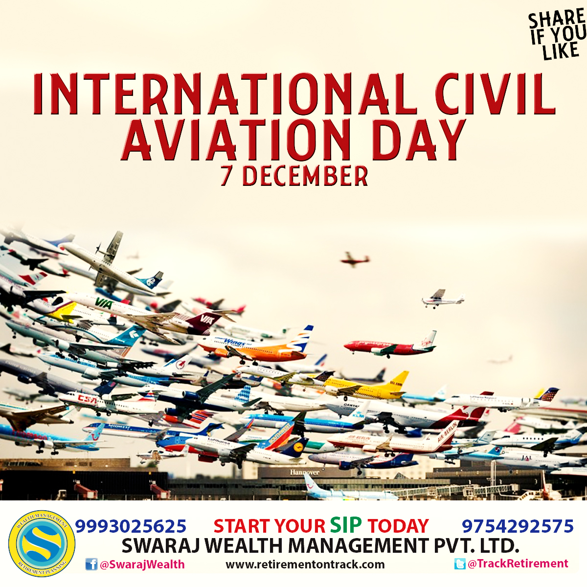 International Civil Aviation Day - SWARAJ TODAY