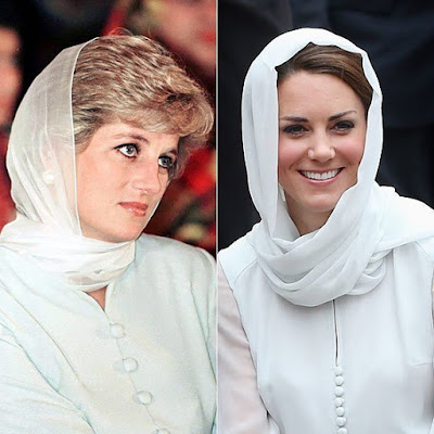 times Princess Diana and Kate Middleton were style twins