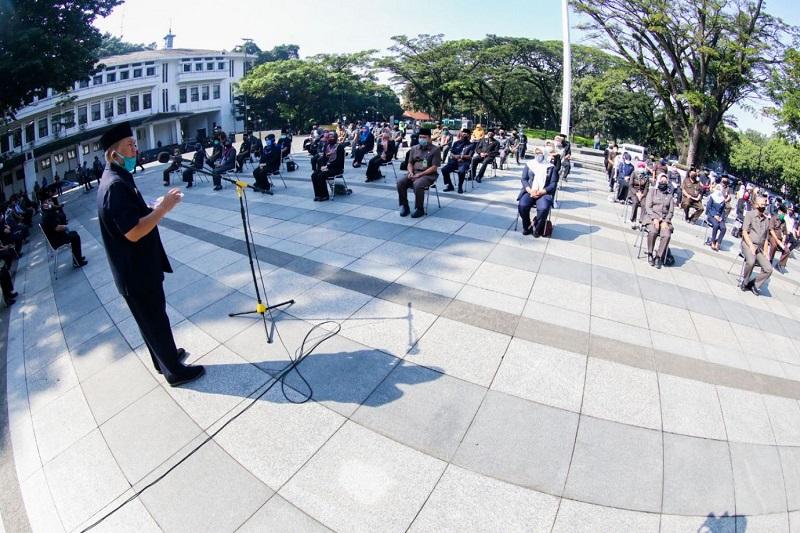 Wali Kota: Pejabat Baru Harus Siap Hadapi Tantangan Pascawabah Covid-19