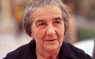 Golda Meir foi a primeira e única