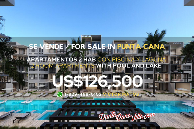 Apartment with pool and private beach