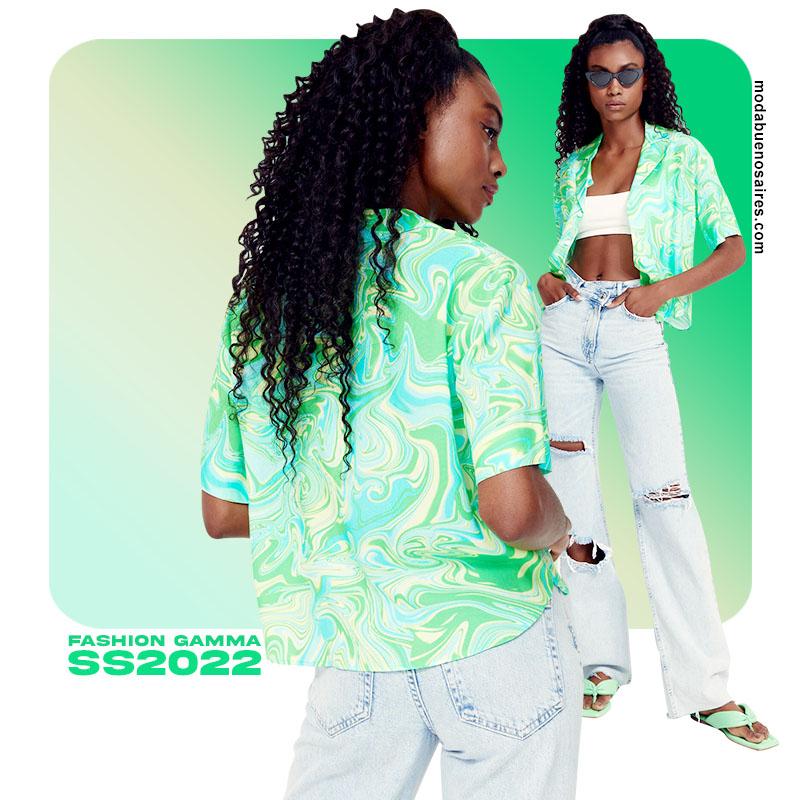 verdes moda colores ropa de mujer 2022