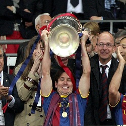 DP Messi Juara Liga Champions