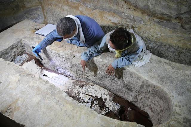 New discoveries at the Mummification Workshop Complex at Saqqara