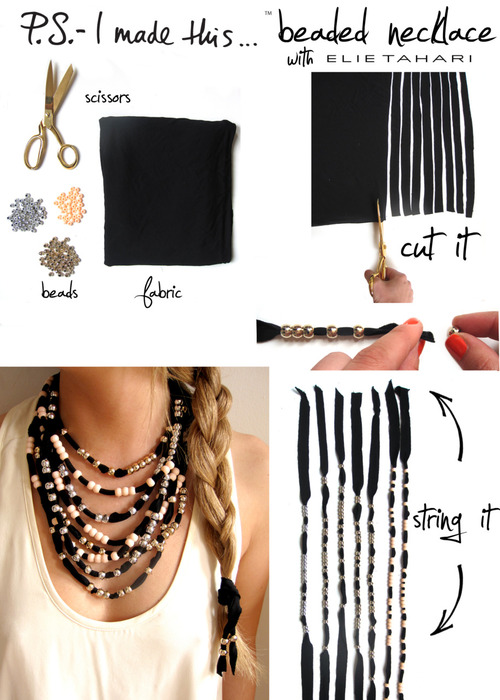 How To make Necklace From Beads
