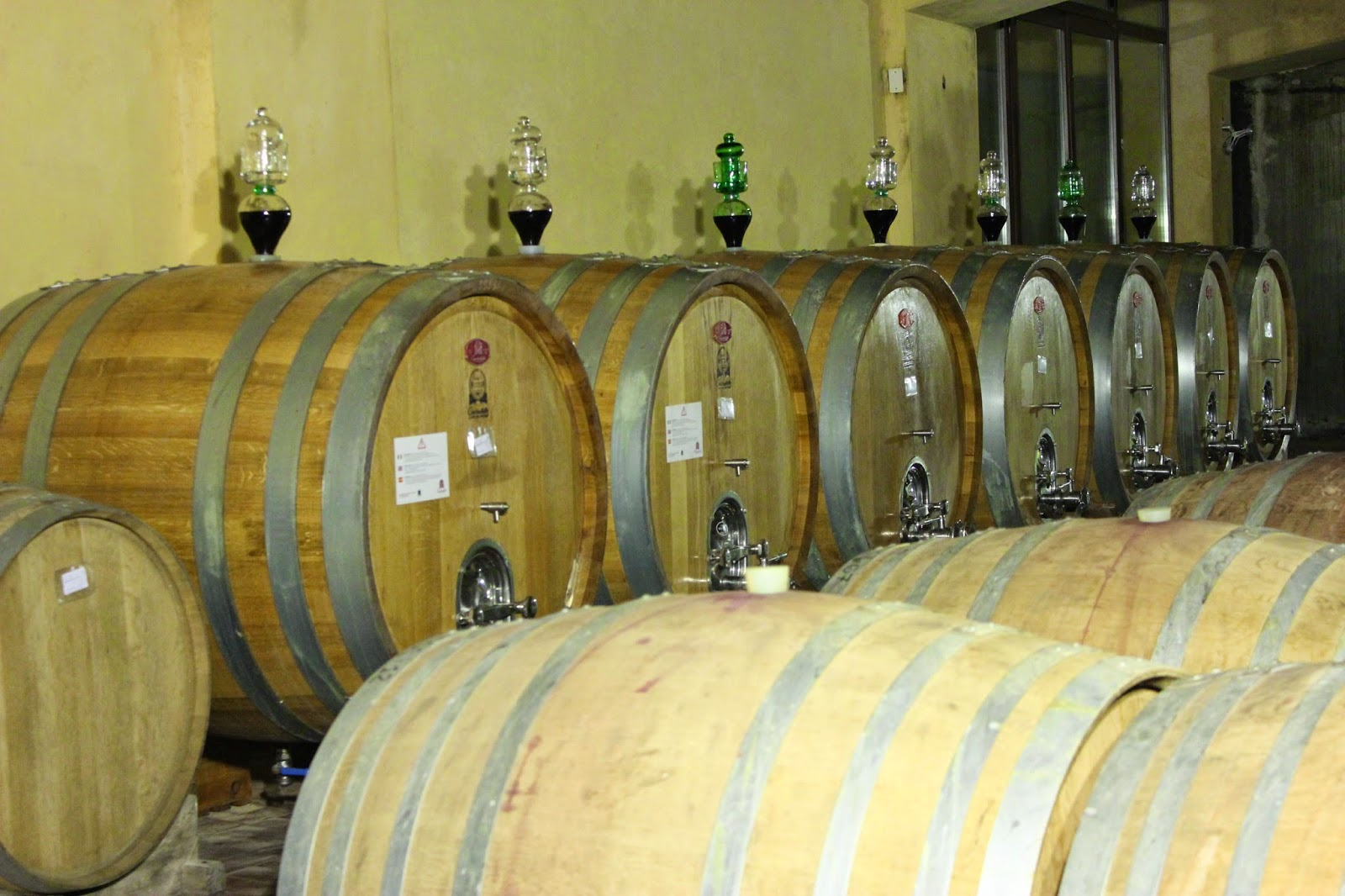 Wine cellar of Corte Sant'Alda