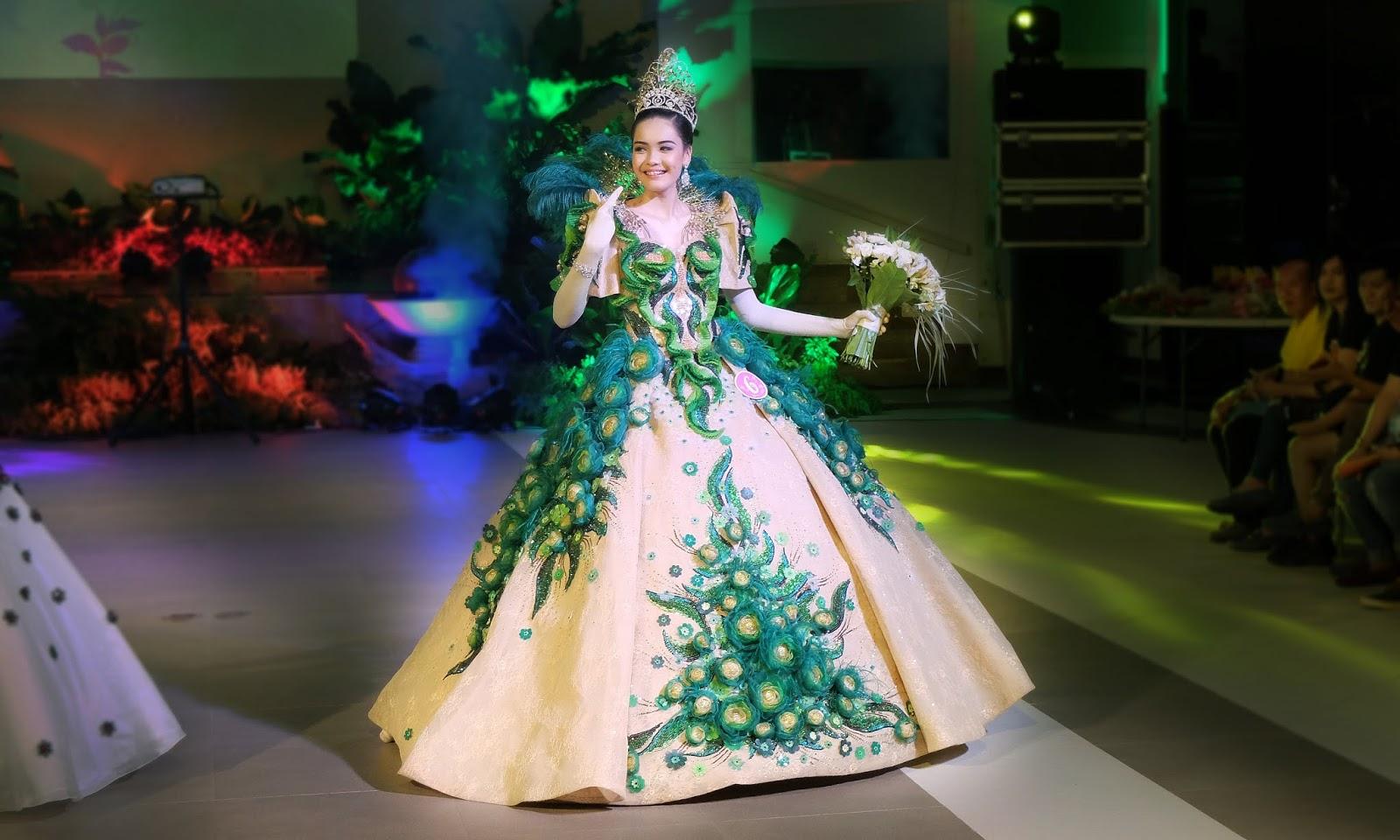Angelique Natividad Federico Navarro Es la Hora Vigan Ilocos Sur Binatbatan Festival de las Bellas y Flores Gown Competition National Costume