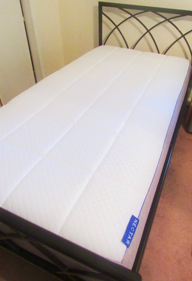setting up a nectar sleep mattress is very easy too unpack it from the box and lift the roll onto the bed frame cut the plastic with the enclosed plastic