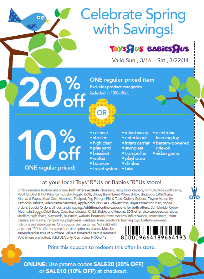 photo about Toysrus Printable Coupon called currently being MVP: 20% OFF ToysRUs Printable Coupon (On the web Promo Code)