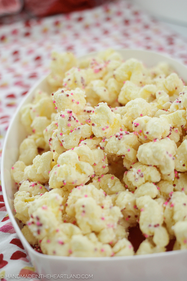 How to make coated puffcorn treat