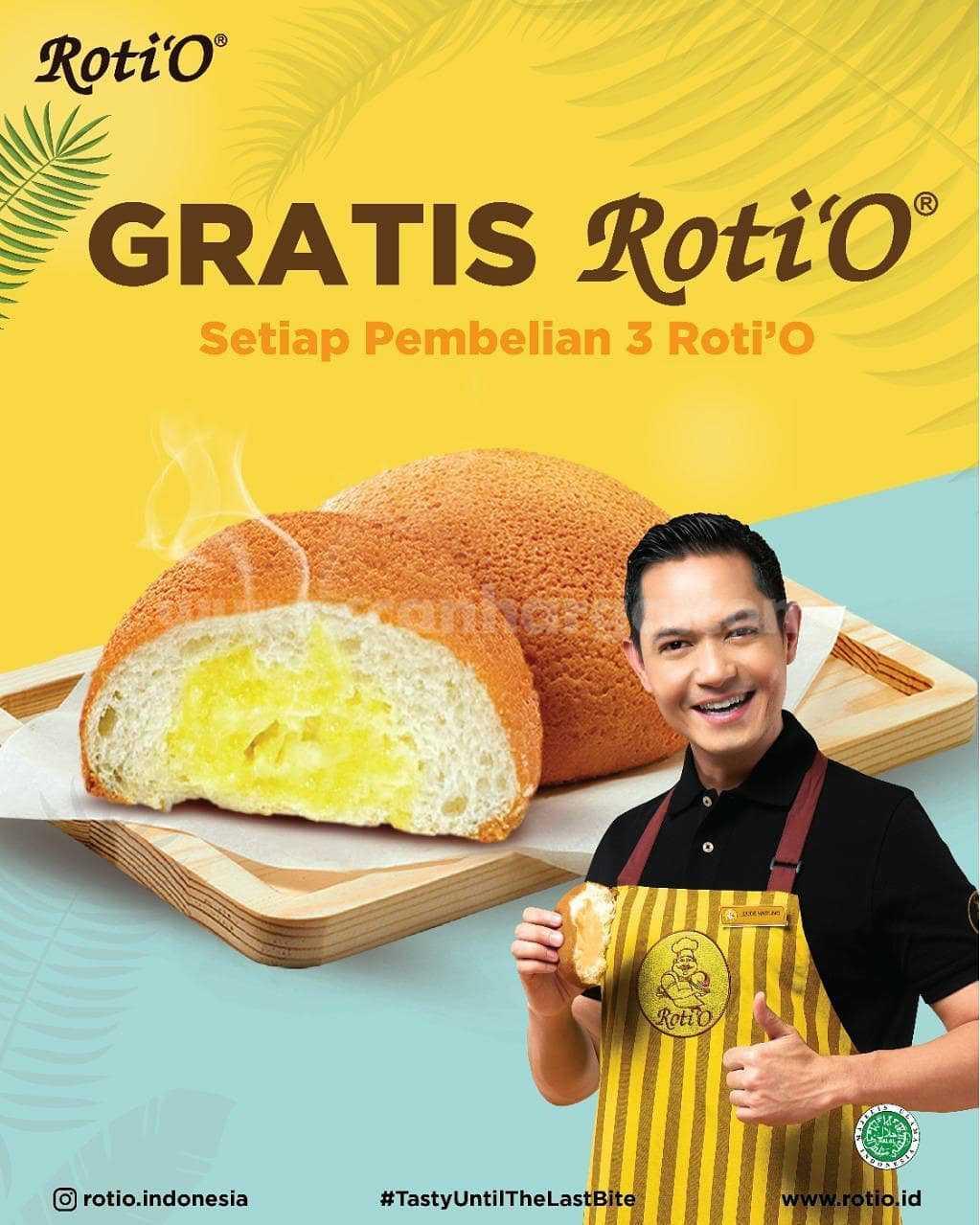 Promo Roti O Spesial JUNI - Beli 3 Gratis 1 Roti'O 1