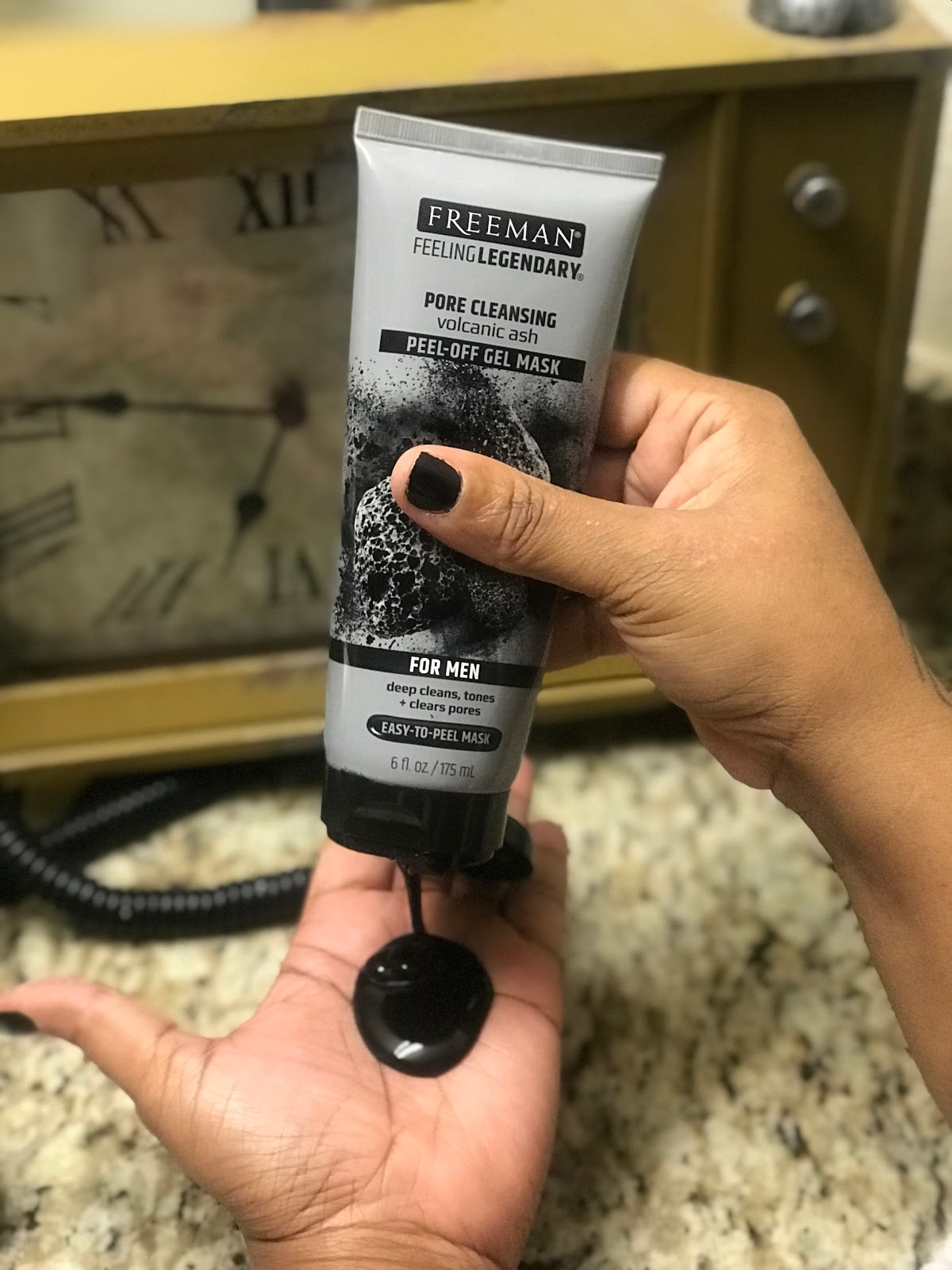 I Tried A New Face Mask! Tried A Men's Face Mask. Feel Good Beauty Bits