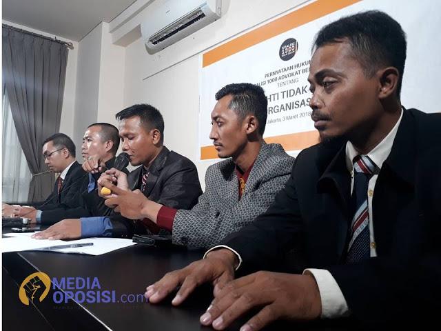Advokat Bela Islam Nyatakan HTI Tidak Dibubarkan Dan Bukan Organisasi Terlarang