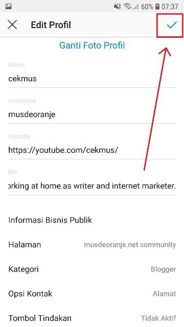 Cara Menambahkan Lokasi Di Bio Instagram Terbaru Musdeoranje Net