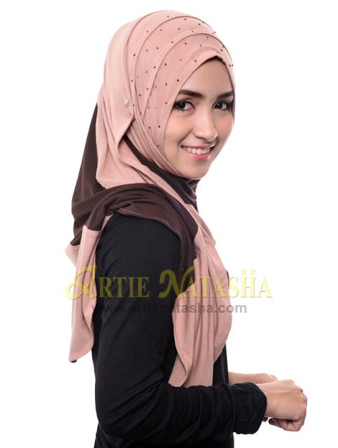 natasha 1 loops cotton rekaan tudung terbaru fesyen hari raya 2015