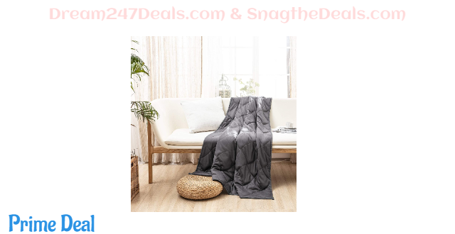 MILDLY Weighted Blanket 15 lbs-20lbs (Twin /Queen Size) 50%OFF