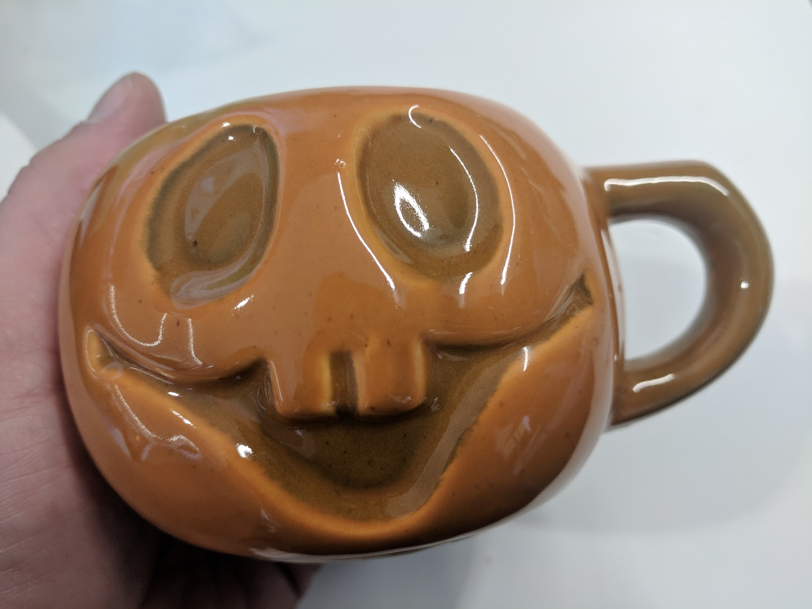 vintage mccoy limited pottery pumpkin mug - vintage find/gift/got away