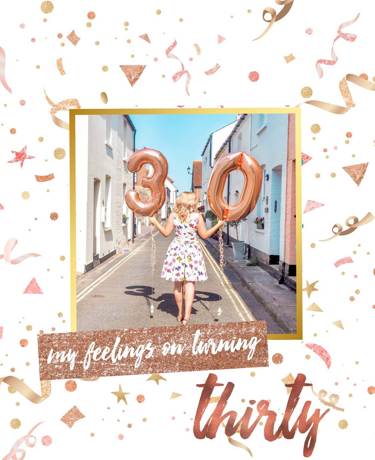 My Feelings On Turning 30, Katie Kirk Loves, UK Blogger, 30th Birthday, 30 Flirty and Thriving, UK Fashion Blogger, UK Lifestyle Blogger, Turning 30 In Style, Over 30s Fashion, 30 and Fabulous, Milestone Birthday, Party Blogger, Vintage Tea Dress, Pin It, Pinterest Worthy