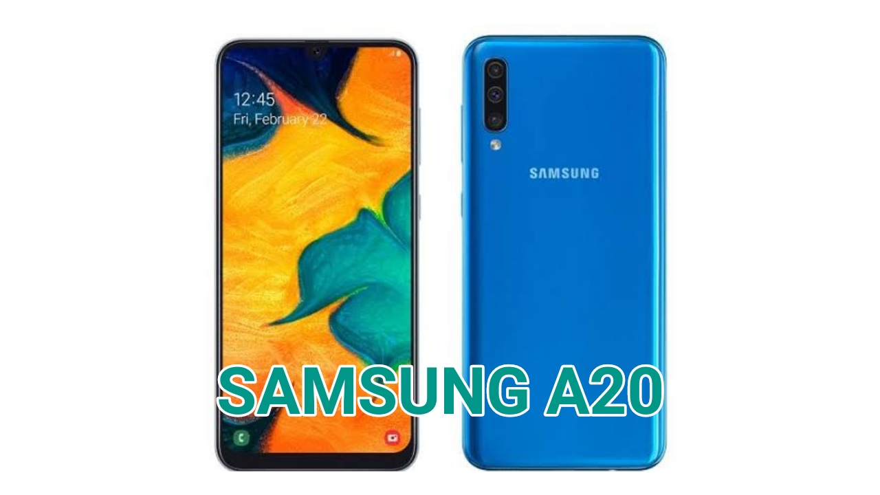 Cara Screenshot Samsung Galaxy A20