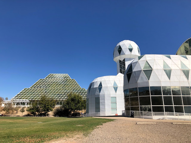 science lab buildings in the desert