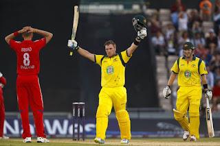 Aaron Finch 156 vs England Highlights