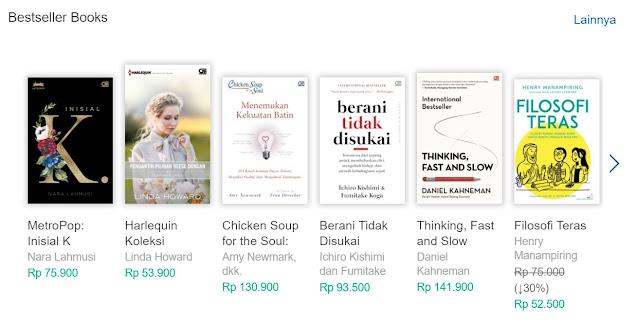 koleksi buku bestseller