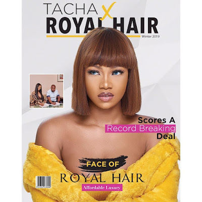 #BBNaija Tacha latest photos and news