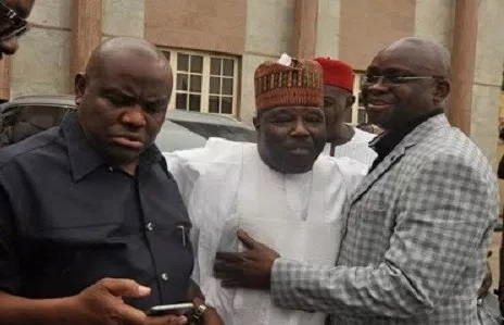 Sheriff, Wike and Fayose