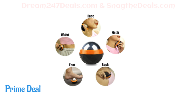 50% off Hot or Cold Massage Roller Ball