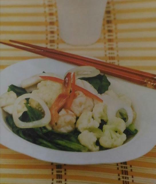 Resep Cah Kembang Kol Seafood