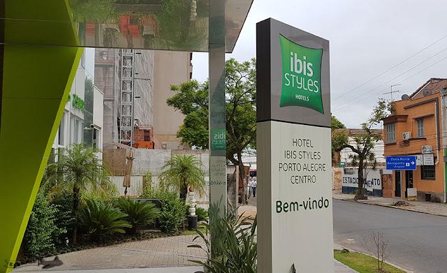 Hotel Ibis Styles Porto Alegre Centro