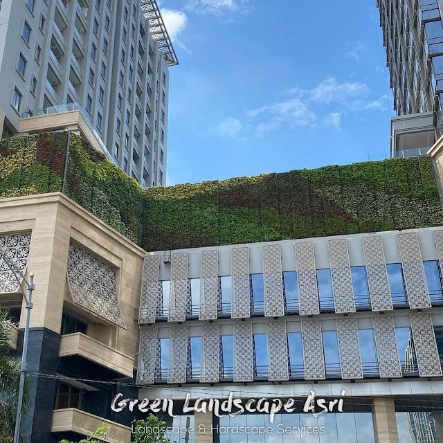 Vertical Garden Surabaya | Jasa Kontraktor Taman Vertikal Terbaik & Bergaransi