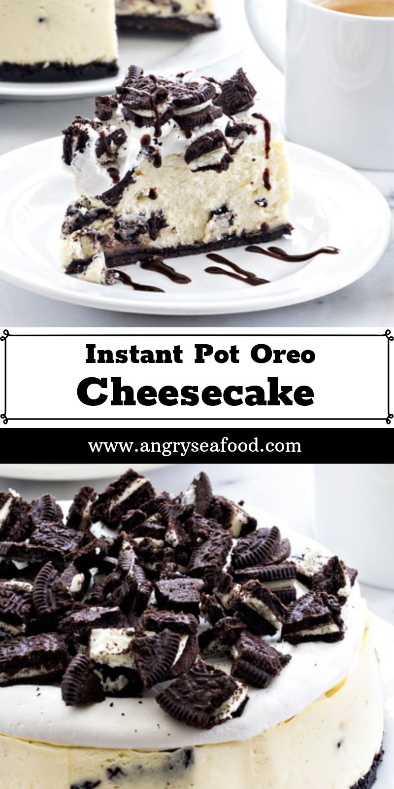 Instant Pot Oreo Cheesecake