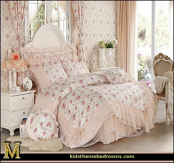 lace ruffles bedding victorian style bedroom ideas victorian lamp victorian  floral bedding