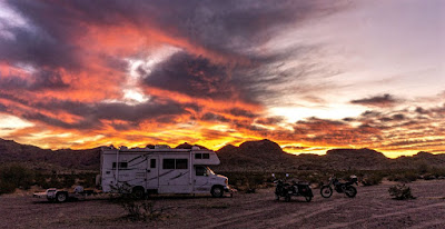 A little T-Dub ing, a resupply ride to Ajo, more A-10s and a sunset