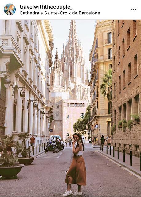 dove scattare foto bellissime a Barcellona