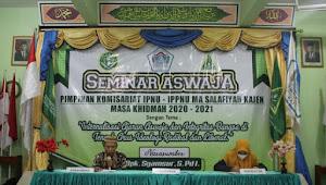 PK IPNU IPPNU MA Salafiyah Gelar Seminar ASWAJA di