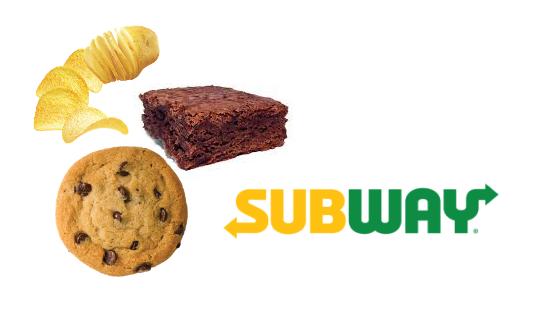 Subway grátis