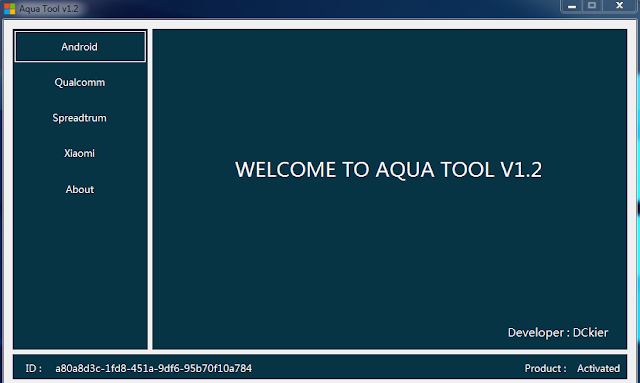 Aqua Tool V1.2 Latest Version Tool Free Activation Key Download Free