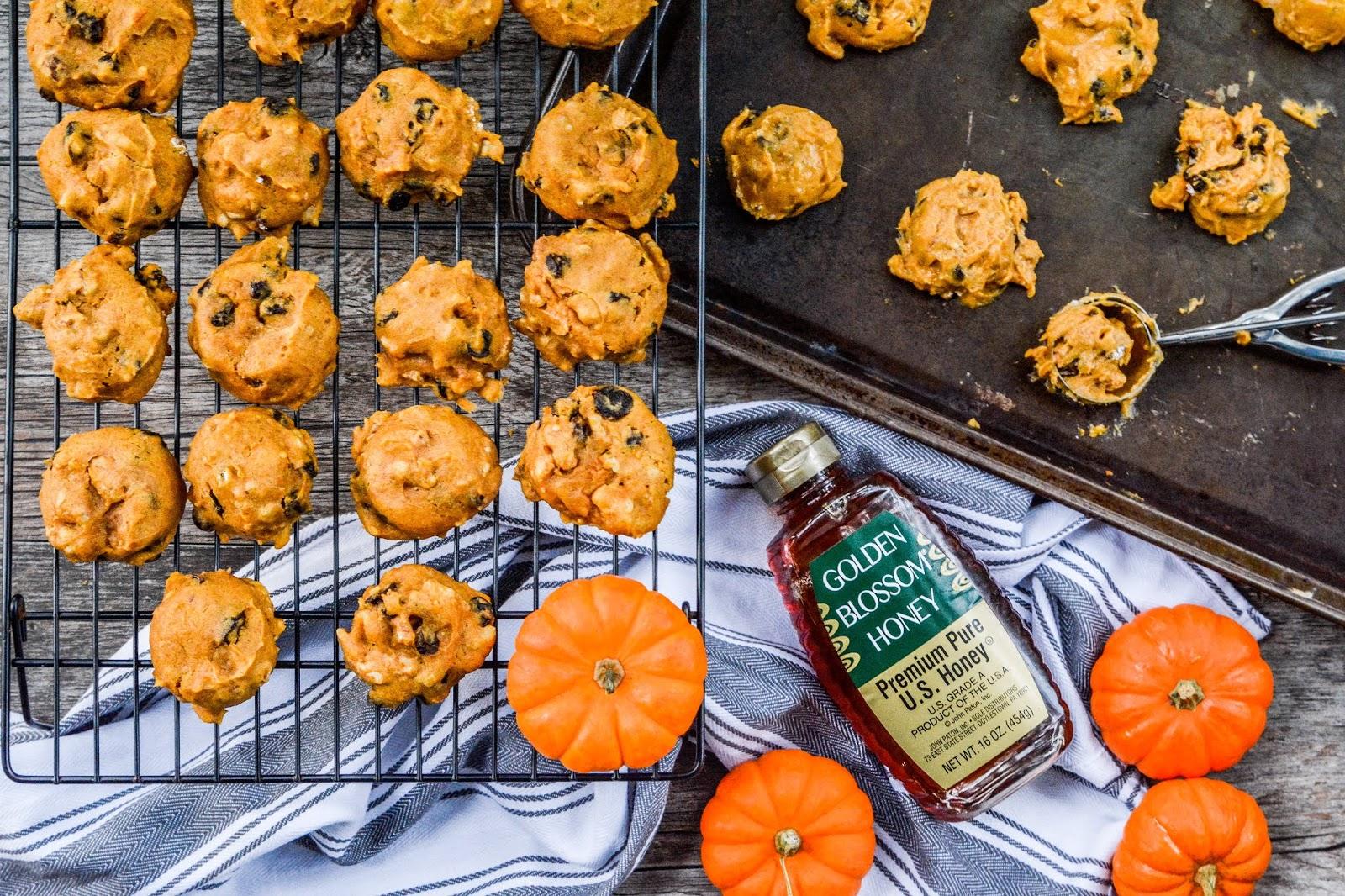 Raisin Pumpkin Cookies