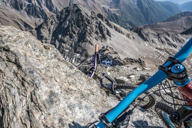 Gipfel Wilde Kreuzspitze MTB